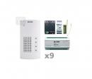 AKF-09 - аудио комплект на 9 абонентов для i2-BUS системы
