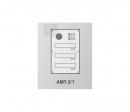 AMT-2/1 врезная панель для почтовых ящиков
