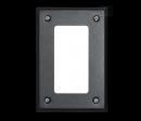 CYFRAL SLL-black - маленькая панель со списком абонентов (черная)