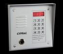 CYFRAL PC1000T-silver - серебристая вызывная панель с встроенным считывателем