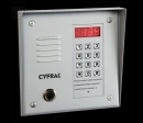 CYFRAL PC1000T-silver - izsaukumu panelis (sudrabs) ar nolasītāj