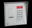 CYFRAL PC1000-silver - серебристая вызывная панель