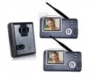 HZ-356MA12 - беспроводной видео домофон (2 монитора)