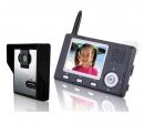 HZ-357MA11 - беспроводной видео домофон (1 монитор)