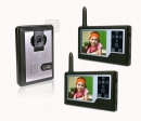 HZ-358MA12DVR - беспроводной видео домофон (функция видеозаписи)