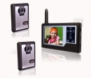 HZ-358MA21DVR - bezvadu video domofons