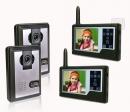 HZ-358MA22DVR - беспроводной видео домофон (функция видеозаписи)