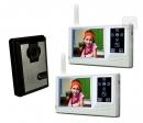 HZ-359MA12 - беспроводной видео домофон (2 монитора)