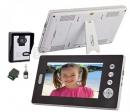 HZ-701MA12 - беспроводной видео домофон (2 монитора)