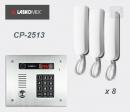 LASKOMEX eKit CP-2513TP X8 - audio domofona komplekts