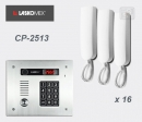 LASKOMEX eKit CP-2513TP X16 - комплект аудио домофона