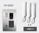 LASKOMEX eKit CP-2523TP X8 - audio domofona komplekts