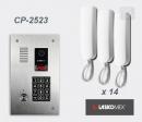 LASKOMEX eKit CP-2523TP X14 - audio domofona komplekts