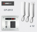 LASKOMEX eKit CP-2513TR X12 - audio domofona komplekts