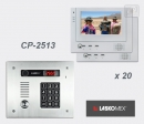 LASKOMEX eKit CP-2513TP VX20 - комплект видео домофона