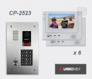LASKOMEX eKit CP-2523TP VX6 - комплект видео домофона
