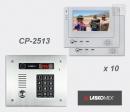 LASKOMEX eKit CP-2513TR VX10 - комплект видео домофона