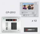 LASKOMEX eKit CP-2513TR VX12 - комплект видео домофона