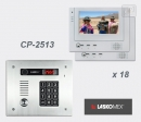 LASKOMEX eKit CP-2513TR VX18 - комплект видео домофона