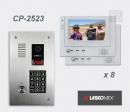 LASKOMEX eKit CP-2523TR VX8 - video domofona komplekts
