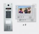 LASKOMEX eKit CP-2533NR VX8 - video domofona komplekts