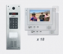 LASKOMEX eKit CP-2533NR VX18 - video domofona komplekts