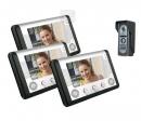 SY-801+D9C-classic 1/3 - комплект видео домофона CLASSIC (3 монитора)
