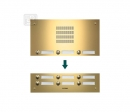 TMG-12/3 AKZENTE входная панель - PVD покрытие