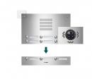 TVG12/3 ESTA видео входная панель на 12 абон.