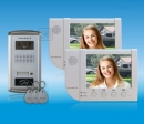 ZDL-6380W2+28T1 - комплект цветного видео домофона с RFID