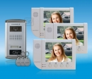 ZDL-6380W3+28T1 - комплект цветного видео домофона с RFID