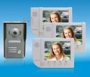 ZDL-6380W3+33M - комплект цветного видео домофона