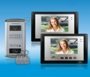 ZDL-6700B2+28T1 - video domofona komplekts ar RFID