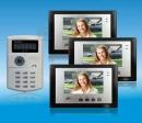 ZDL-6700B3+229 - цветной видео домофон - комплект, кодовый замок и RFID