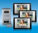 ZDL-6700B3+28T1 - цветной видео домофон - комплект с RFID
