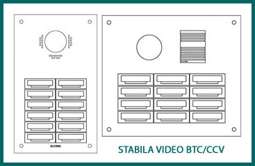 STABILA video panelis BTC/CCV